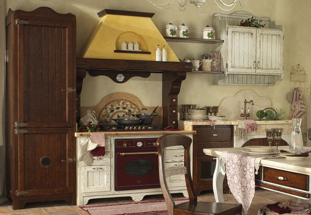 Country corner le cucine for Arredamento cucina country